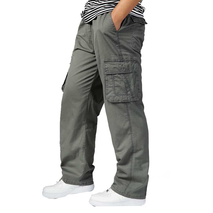 Popular Mens Elastic Waist Khaki Pants-Buy Cheap Mens Elastic ...