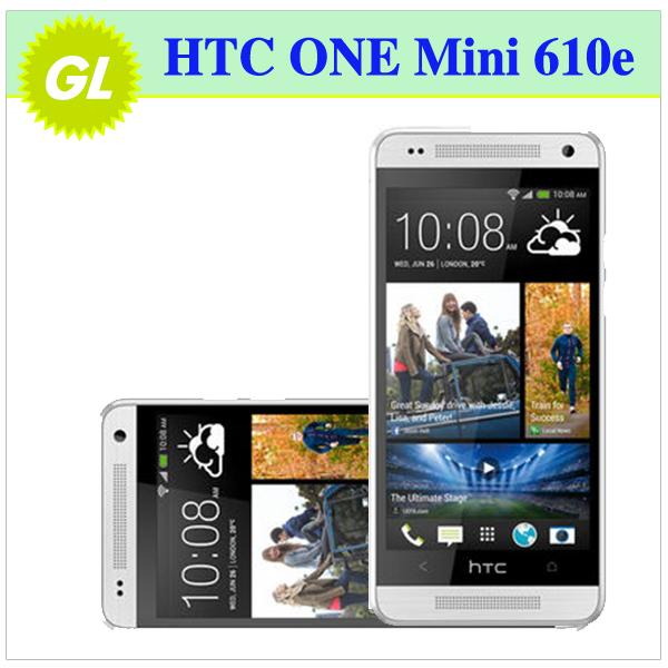 610e Original HTC ONE Mini 601e 3G&4G GPS WIFI 4MP camera 16GB Internal 4.3''TouchScreen Unlocked Cell Phone(China (Mainland))