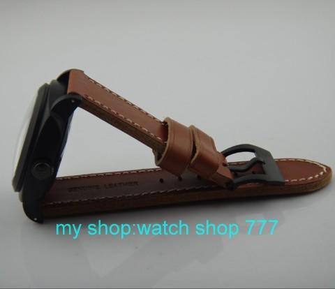 Высокое качество 2016 новая мода ПАРНИС 47 ММ Азии ST2530 Автоматическое механическое движение парня часы Роскошные часы pvd дело