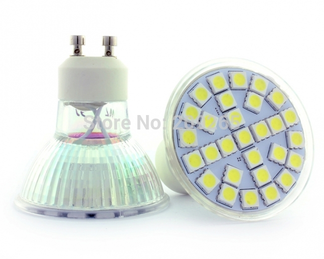 220v gu10 5050smd 29chips led casa para de lampada leds for Focos led para casa