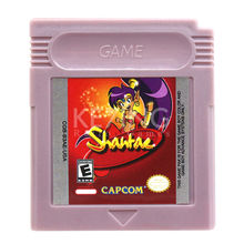 Shantae Game Cartridge Console Card English Language US Version for GB Color Handheld Game Player