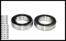 Buy 10pcs/Lot MR83-2RS MR83 RS 3x8x3mm Rubber Sealing Cover Thin Wall Deep Groove Ball Bearing Miniature Bearing Brand New for $5.59 in AliExpress store