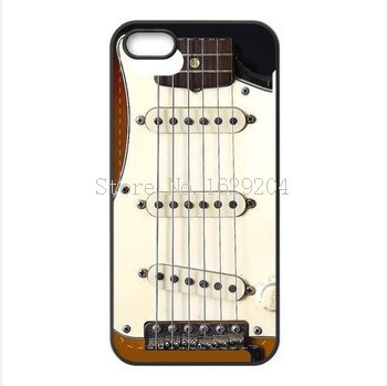 Instruments Guitar Vintage Fender Stratocaster pattern Aluminum Snap On Case back Cover For iphone 4 4S 5C 5S 6 6Plus(China (Mainland))
