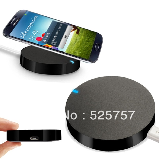 free shipping new 2016 qi wireless phone charger charging pad compatible for samsung galaxy s6. Black Bedroom Furniture Sets. Home Design Ideas