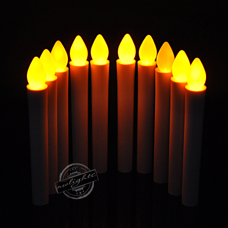 50pcs Long Pole LED Electronic Smokeless Candles Event Party Xmas Battery Hand-hold Colorful Light Candle DHL Free Shipping(China (Mainland))