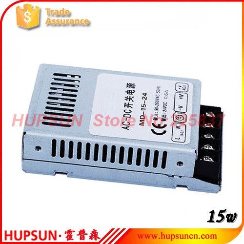 15w MD-15 fonte ac-dc 5v 3a 3.3v 4A 12v mini slim LED driver switching power supply source compact high quality free shipping(China (Mainland))