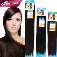 Cabelo Humano Premium Quality Hair Yaki Weve Indian Hair Blended Flip In Hair Extension 8″-20″ Color1,1B,2,4 Wigood