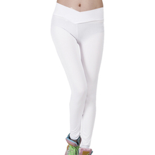 New Hot Women Sportswear Pants Skinny High Waist Elastic Fitness 10 Colors Sport Tights Women Clothing