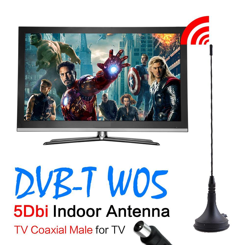 New 5dBi Digital DVB-T TV Antenna Freeview HDTV Antenna Aerial Booster EL0341(China (Mainland))