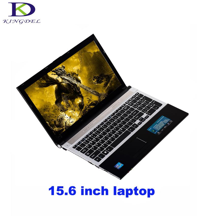 Classic style 15.6 inch laptop Intel Celeron J1900 Quad Core netbook HDMI USB3.0 WIFI Bluetooth DVD-RW home computer 8G+500G(China (Mainland))