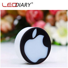 Novelty LED Night Light US Plug Romantic Love Apple Lighting Sensor Light Lamp Veilleuse for Baby Bedside/Gift Free Shipping(China (Mainland))