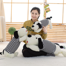 Buy 50cm Lovely Dog Plush Toy Kids Soft Small Dog Soft Cotton Stuffed Animal Plush Doll Toys Best Birthday Gift for $18.42 in AliExpress store