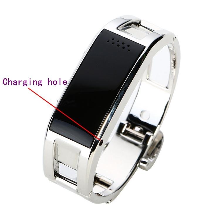 ถูก โลหะS Mart W Atchนาฬิกาข้อมือS Martbandสำหรับผู้หญิงคนสมาร์ทนาฬิกาA Plusนาฬิกาซิงค์แจ้งเตือนบลูทูธsmartwatch