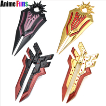 Buy 10cm Game League Legends Ring LOL Radiant Dawn Leona Weapon Shield Fingertip Ring Master Shadow Zed Finger Ring for $3.30 in AliExpress store