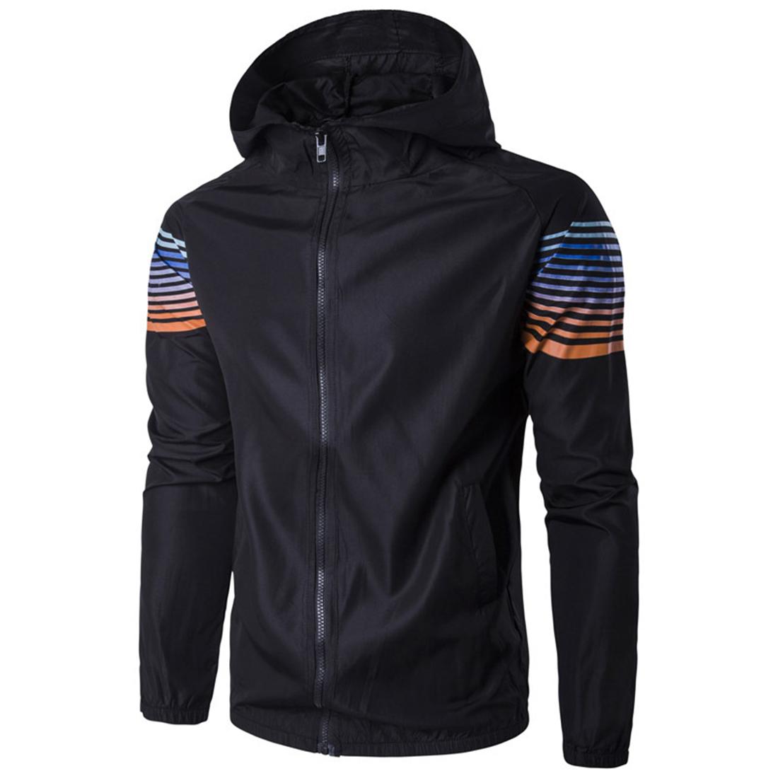 Popular Long Black and White Striped Jacket-Buy Cheap Long Black