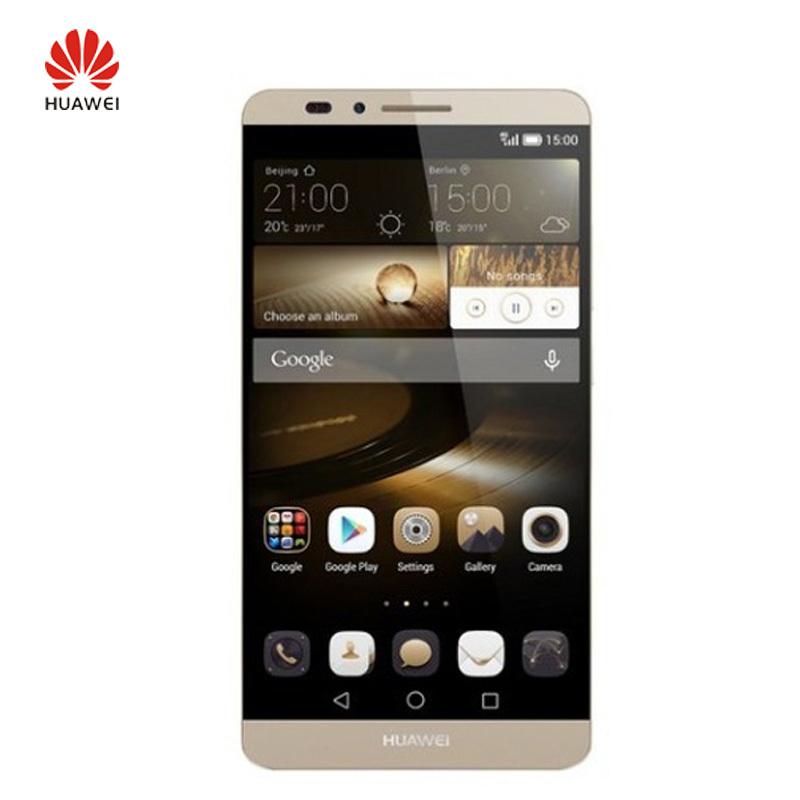 "Original Huawei Ascend Mate 7 Cell Phone 6.0"" 1920*1080 4G LTE Kirin 925 Octa Core 3GB RAM 32GB ROM Android 4.4 13.0MP(China (Mainland))"