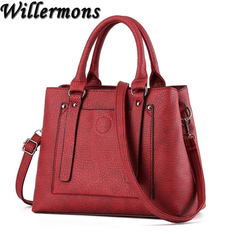 Elegant Women Leather Handbag Women Messenger Bags Shoulder Bag Ladies Party Handbags<br><br>Aliexpress