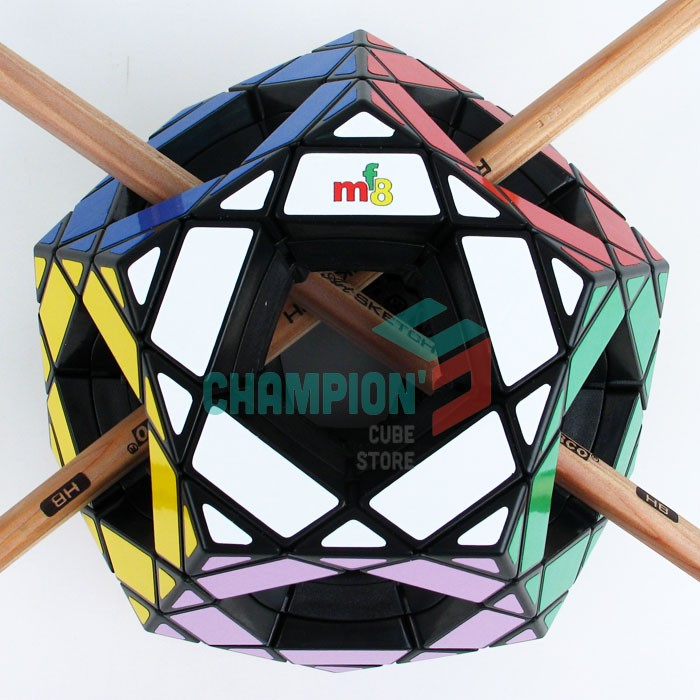 MF8 Void Grasp Pentultimate Magic Dice Puzzle Black (Stickered) Studying&Instructional Cubo magico Toys