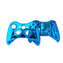 Light Blue Full Controller Shell Case Housing for Microsoft Xbox 360 Wireless Controller