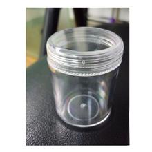 Clear Plastic Jewelry Box Beads Pills Storage With 12 Round Containers Jars Round Transparent Storage Case 3.8*4.8cm(China (Mainland))
