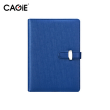 CAGIE A5/A6 Office Planner Agenda Notebook Women/Men Pu Leather Travel Journal Personal Diary Students Composition Book - Cagie Stationery store