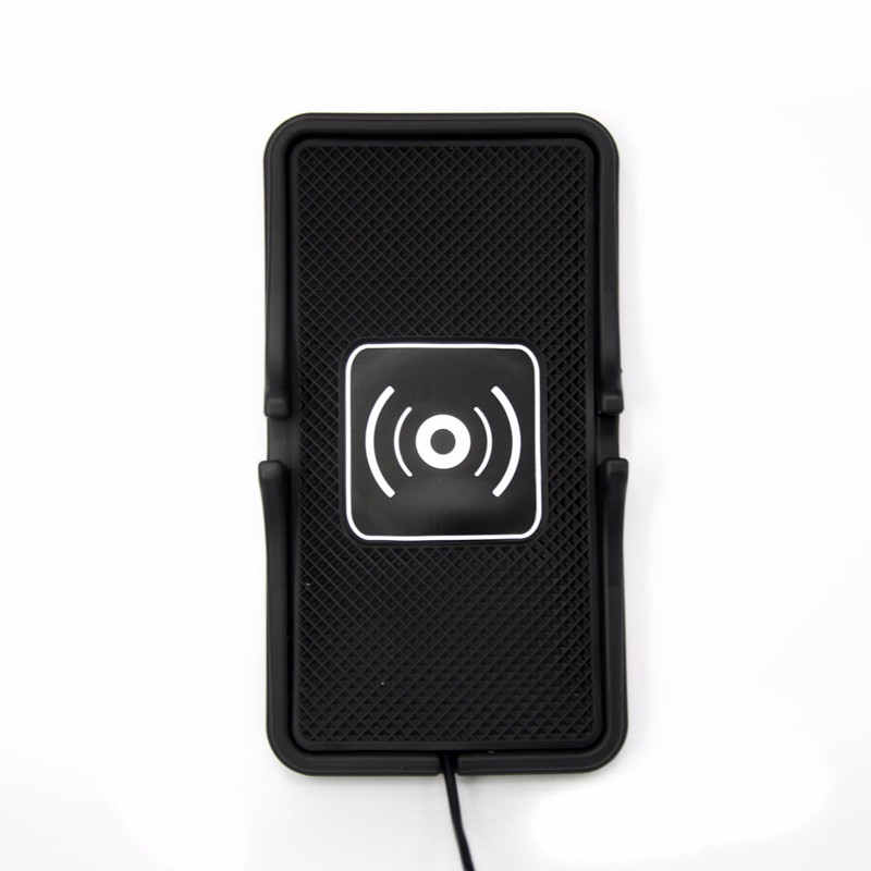 Qi Car Mobile Phone Holder Stand Wireless Charger for iPhone 6 Plus/5s For Samsung Galaxy S6 S7 Edge S5 Qi Charing Pad