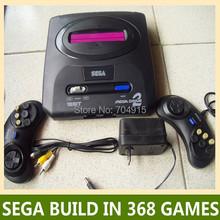 16-Bit sega video-game-spieler md spielkonsole schwarz Spiel Patronen gebaut in 16-bit-spiele mit einer Karte Mega Drive versandkostenfrei(China (Mainland))