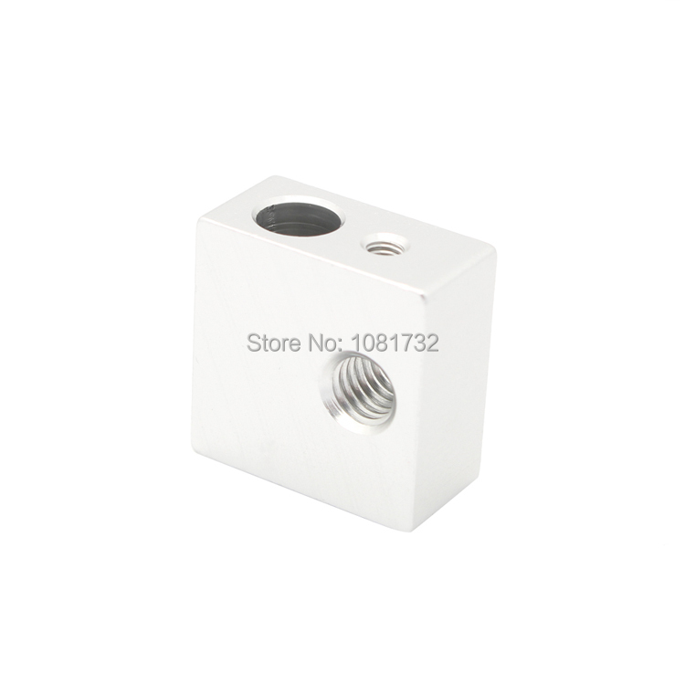1PCS High Quality Aluminum Heater Block M6 Specialized for MK7 MK8 Makerbot 3D Printer Extruder 3D