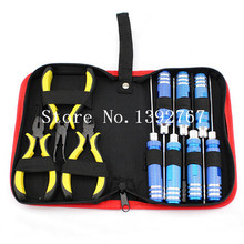 Buy 10 1 Tool Kit Box Set Screwdriver Screw Driver Hex Key 450 500 Pliers Transmitter Helicopter Plane RC Model Car Boat for $14.51 in AliExpress store