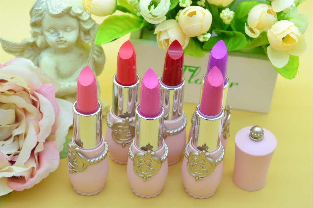 2016 Sexy Lipstick Waterproof long lasting moisturizing Matte Lipstick Beauty Makeup Lip Gloss balm to mouth for girl lip makeup(China (Mainland))