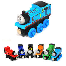 Classic Toy Thomas And Friends Train Car Wooden Complete Set Of Car Engine Train Toys for Children Education,BDB07,Free Shipping(China (Mainland))