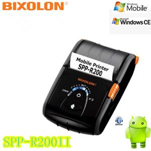 Bixolon 58mm wireless mobile printer SPP-R200II for Ipad(China (Mainland))