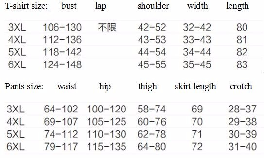 Fat sister fertilizer to increase size women's 200 pounds of fat mm summer 2016 new fashion casual T-shirt pants suit