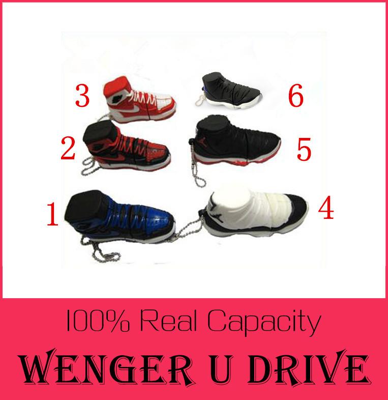 Shoes Sport BRAND NEW JORDAN brand basket shoe pendrive 8gb 16gb 32gb sports memory stick usb flash drive 512GB USB 2.0 128GB(China (Mainland))