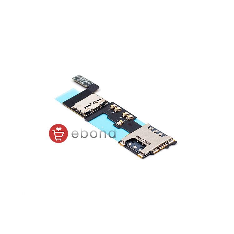 5PCS/LOT 100% Original For Samsung Flex Replacement Flex Cable For Samsung for Galaxy Note 4 N910F REV0.9 SIM_SD Card Flex(China (Mainland))