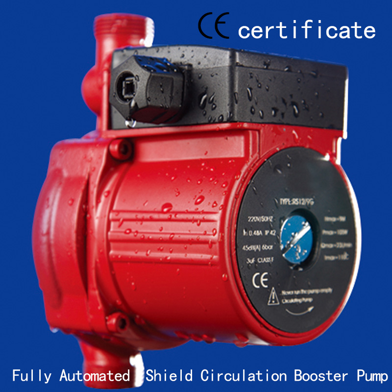 CE Approved Automatic shield circulation booster pump RS12-9G,pressurized with industrial equipment,air condition,household pipe(China (Mainland))
