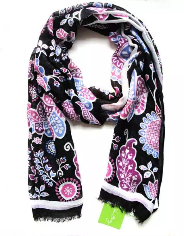Вера в . б . красочные цветы шарфы платки пляжные полотенца мягкие бахрома шарф