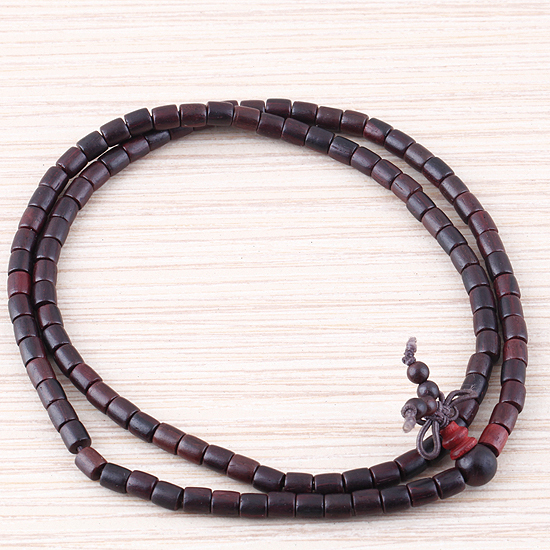 Палисандр буддийский будда медитация 6 мм х 108 молитва бусины мала ожерелье