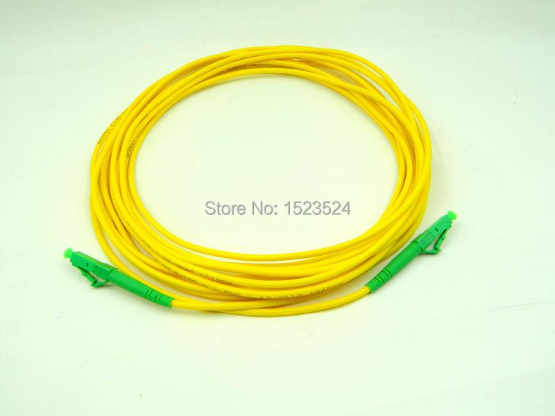 SM SX PVC 3mm 50 Meters LC/APC Fiber Optic Jumper Cable LC/APC-LC/APC Patch Cord  -  Good Future Telecom Mall store