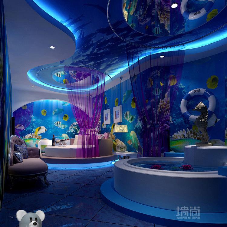 Kinderzimmer Tapete Unterwasserwelt : Dolphin Wall Murals Underwater