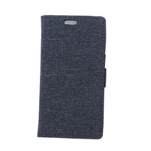 Huawei Ascend G8 Case Linen Texture Card Holder Wallet PU Leather Shell Flip Cover - TCD Shop store