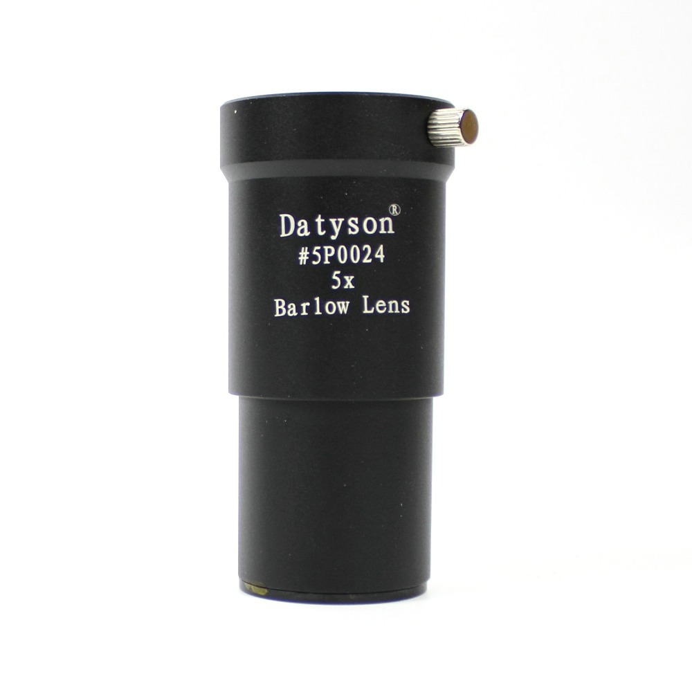 Datyson Full Metal 5X Barlow Lens / Barlow 1.25 inches / 31.7mm for Astronomical Telescope lens eyepiece standard 1.25