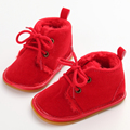 Cotton Shallow Lace Up Solid For Spring Autumn Baby Girl Shoes For 0 2 Years Old