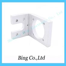 Free Shipping ! 3D Printer aluminum cooling single fan holder for J-head Hotend V5 Bowden & wade Extruder