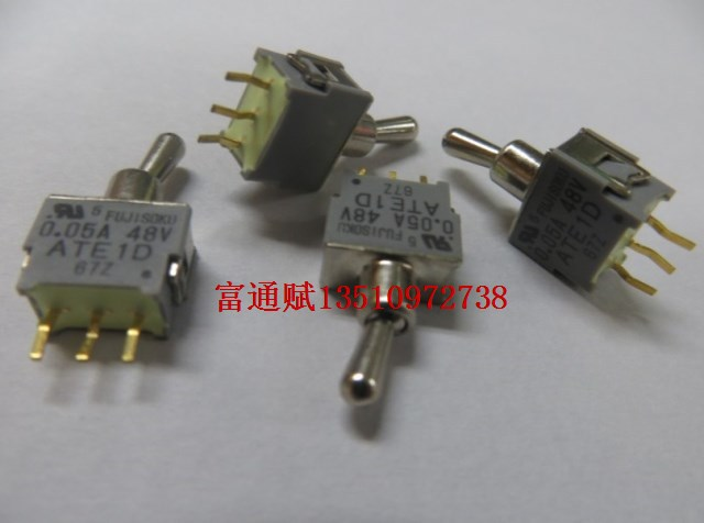 [ BELLA]Fuji books FUJSOKU imported miniature toggle switches ATE1D Toggle Switch 0.05A48V 2 files--20pcs/lot<br><br>Aliexpress