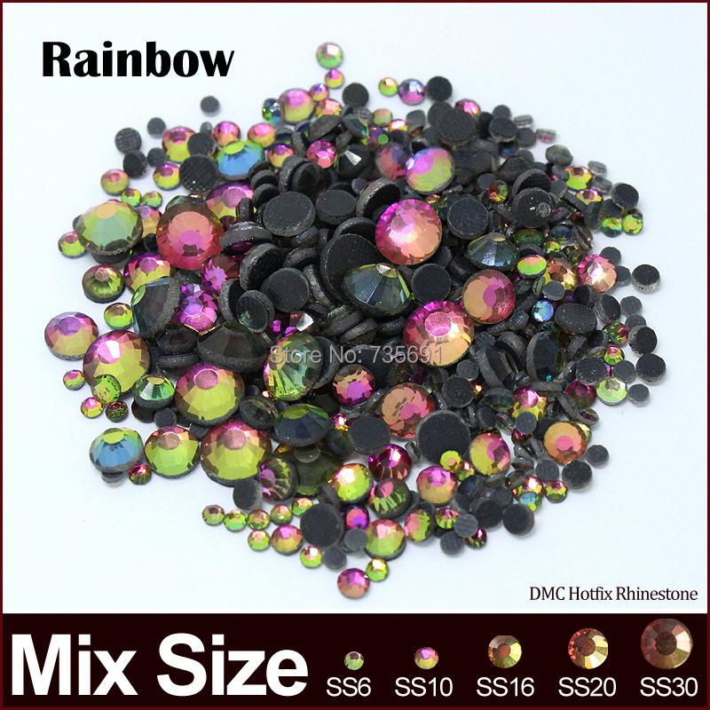 Стразы для одежды YUNFENG SS6 SS10 SS16 SS20 SS30 2400pcs/lotfix Mix Stones fja0112 ss3 ss4 ss5 ss6 ss8 ss10 ss12 ss16 ss20
