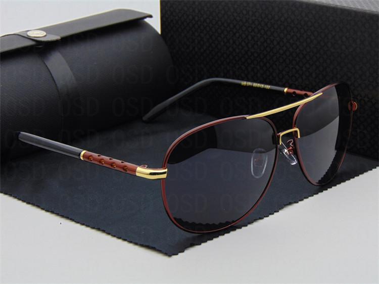 New Polaroid Sunglasses Men Polarized Driving Aviator Sun Glasses Mens Sunglasses Brand Designer Fashion Oculos De Sol Masculino(China (Mainland))