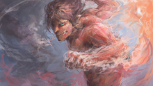 Free shipping Attack on Titan (2013) Japanese sci-fi anime Poster print silk fabric wall decoration 24x36in(1447181315734)