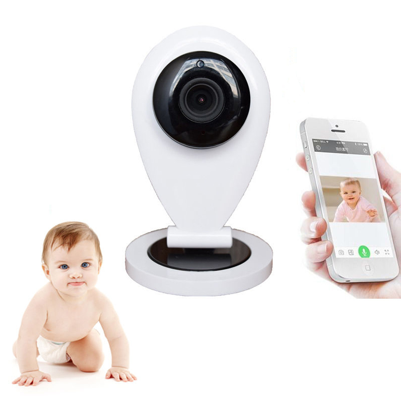 HD 720P Wireless Wifi Video Baby Monitor IP Camera Electronic Babysitter Nanny With Motion Detection Email Alarm Intercom