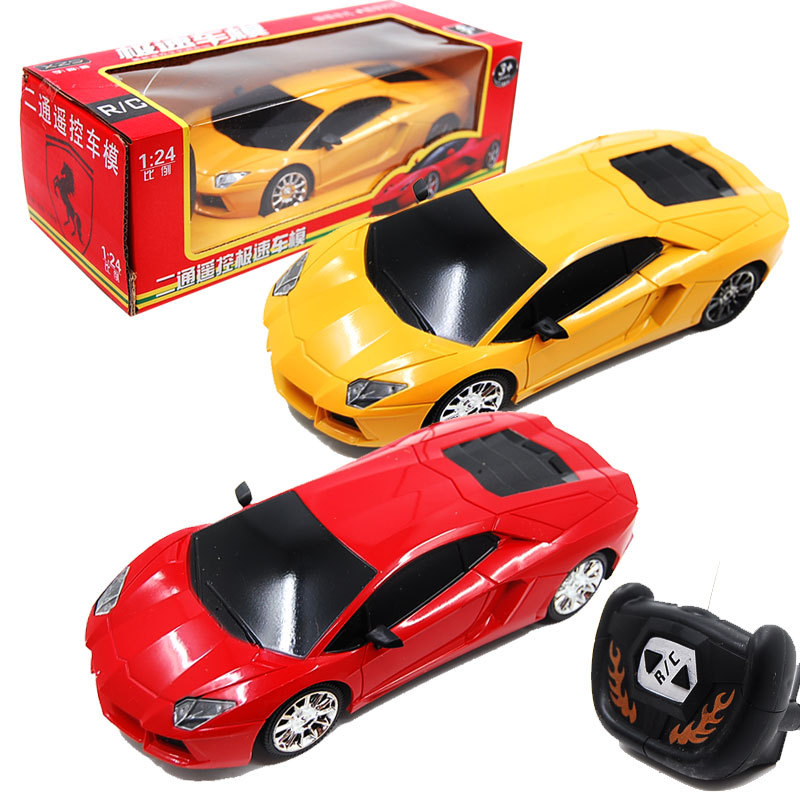 1:24 Wireless 2 channel Remote control Car Toy Car RC Car for children del car 3C 260g 1 pcs/lot(China (Mainland))